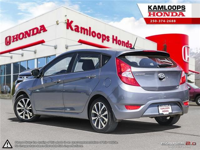 2017 Hyundai Accent GLS (Stk: 13980A) in Kamloops - Image 4 of 25