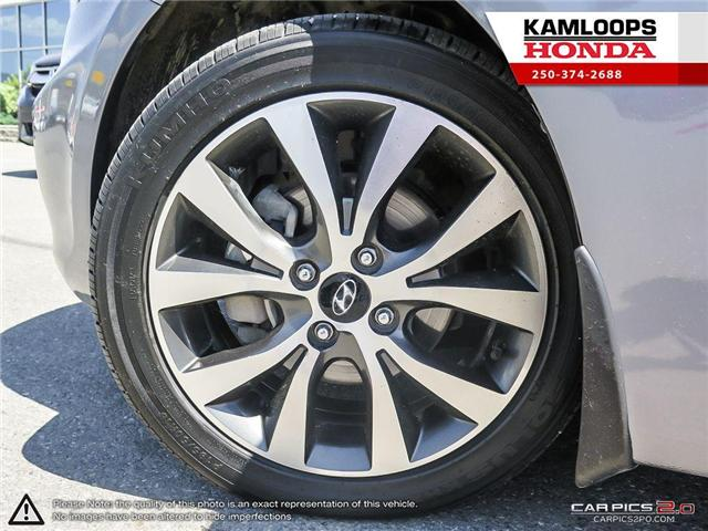 2017 Hyundai Accent GLS (Stk: 13980A) in Kamloops - Image 6 of 25