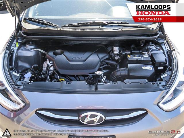2017 Hyundai Accent GLS (Stk: 13980A) in Kamloops - Image 8 of 25