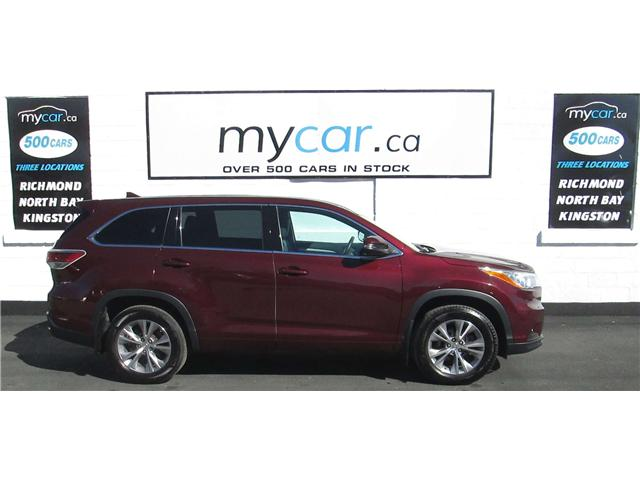 2015 Toyota Highlander LE (Stk: 180678) in Richmond - Image 1 of 13