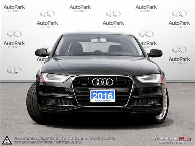 2016 Audi A4 2.0T Komfort plus (Stk: 16-12050SR) in Toronto - Image 2 of 27