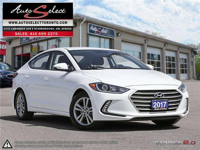 2017 Hyundai Elantra  (Stk: 17QAZ451) in Scarborough - Image 1 of 27