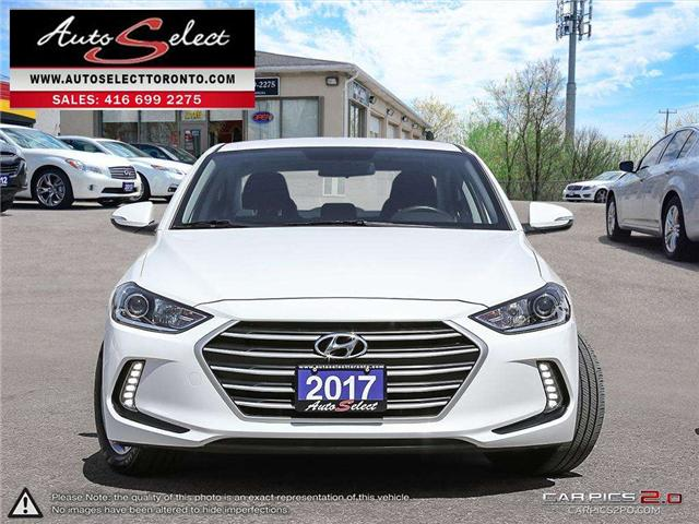 2017 Hyundai Elantra  (Stk: 17QAZ451) in Scarborough - Image 2 of 27