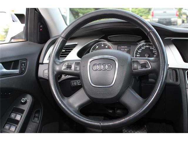2011 Audi A4 2.0T Premium Plus (Stk: 11980B) in Courtenay - Image 14 of 25