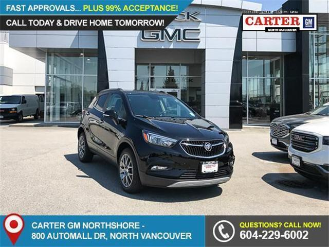 2018 Buick Encore Sport Touring (Stk: 8K38190) in Vancouver - Image 1 of 7
