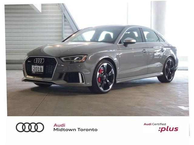 2018 Audi RS 3 2.5T (Stk: AU4493A) in Toronto - Image 1 of 30