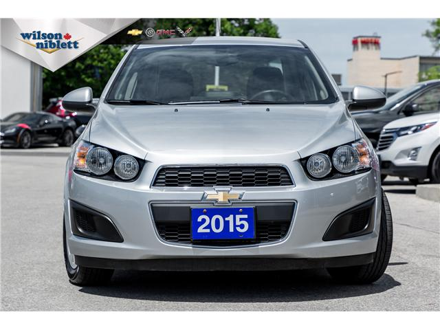 2015 Chevrolet Sonic LT Manual (Stk: P184167) in Richmond Hill - Image 2 of 22