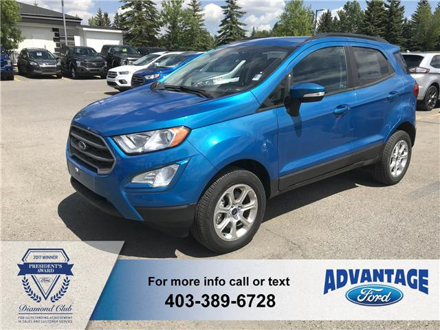 2018 Ford EcoSport SE (Stk: J-054) in Calgary - Image 1 of 5