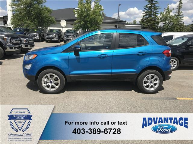 2018 Ford EcoSport SE (Stk: J-054) in Calgary - Image 2 of 5