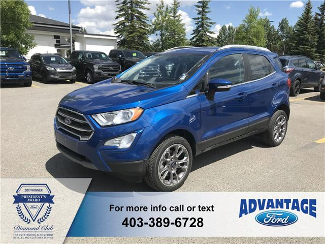 2018 Ford EcoSport Titanium (Stk: J-1001) in Calgary - Image 1 of 6
