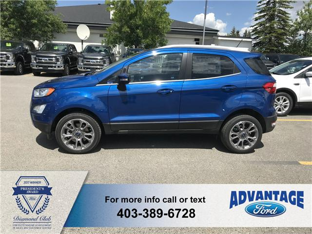 2018 Ford EcoSport Titanium (Stk: J-1001) in Calgary - Image 2 of 6