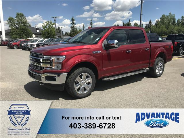 2018 Ford F-150 Lariat (Stk: J-1335) in Calgary - Image 1 of 5