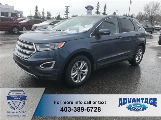 2018 Ford Edge SEL (Stk: J-826) in Calgary - Image 1 of 5