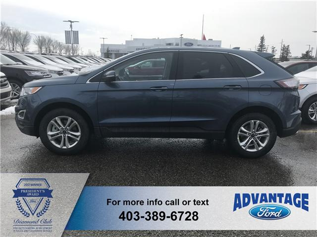 2018 Ford Edge SEL (Stk: J-826) in Calgary - Image 2 of 5