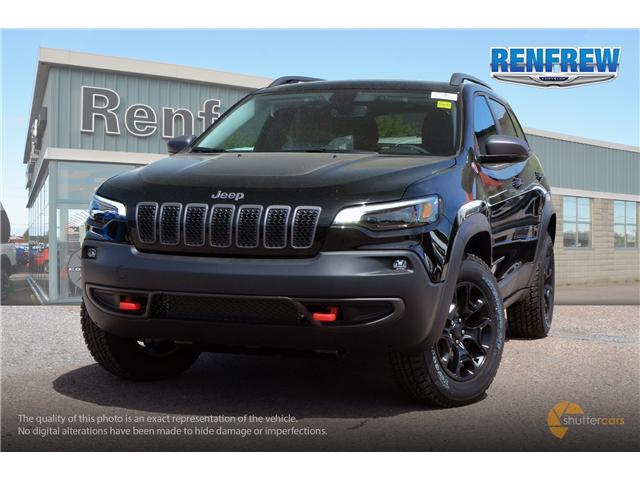 2019 Jeep Cherokee Trailhawk (Stk: K005) in Renfrew - Image 1 of 20