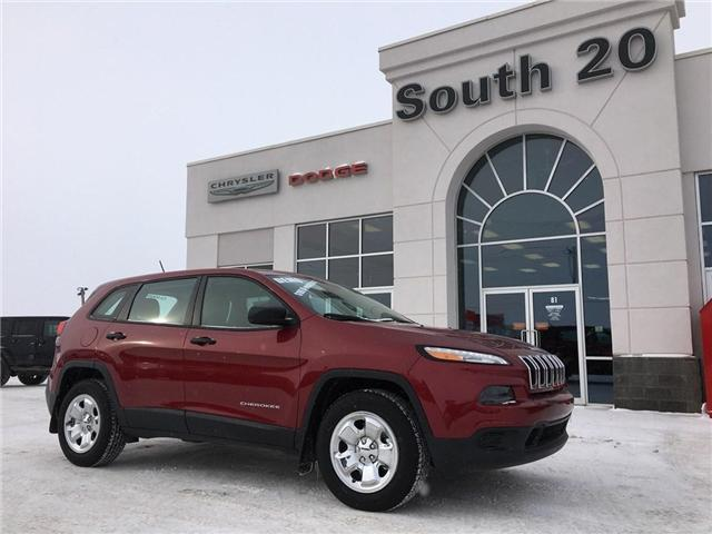 2017 Jeep Cherokee Sport (Stk: 30-464) in Humboldt - Image 1 of 21