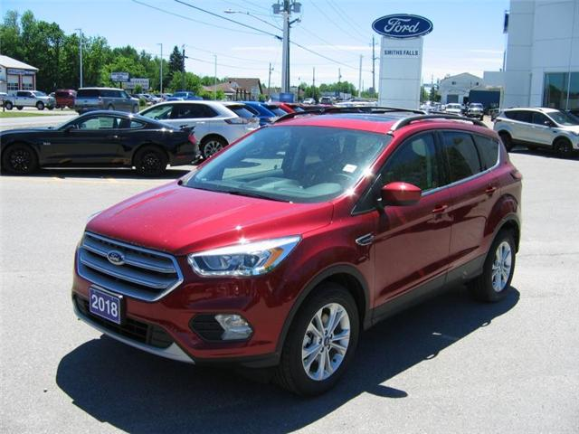 2018 Ford Escape SEL (Stk: 18249) in Smiths Falls - Image 1 of 12