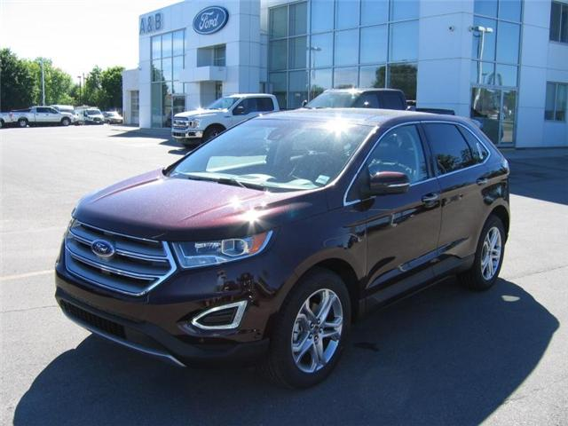 2018 Ford Edge Titanium (Stk: 18393) in Perth - Image 1 of 12