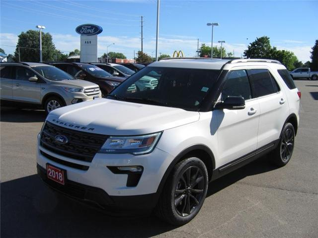 2018 Ford Explorer XLT (Stk: 18379) in Perth - Image 1 of 12