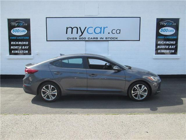 2018 Hyundai Elantra GLS (Stk: 180756) in North Bay - Image 1 of 14