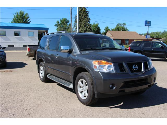 2012 Nissan Armada Platinum Edition (Stk: 192136) in Brooks - Image 1 of 24