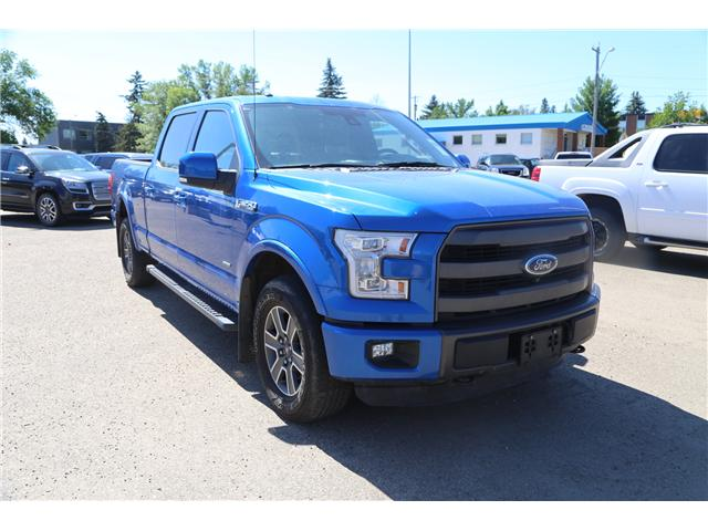 2015 Ford F-150 Lariat (Stk: 190416) in Brooks - Image 1 of 26