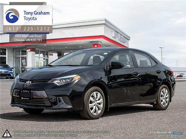 2016 Toyota Corolla LE (Stk: D11175A) in Ottawa - Image 1 of 25
