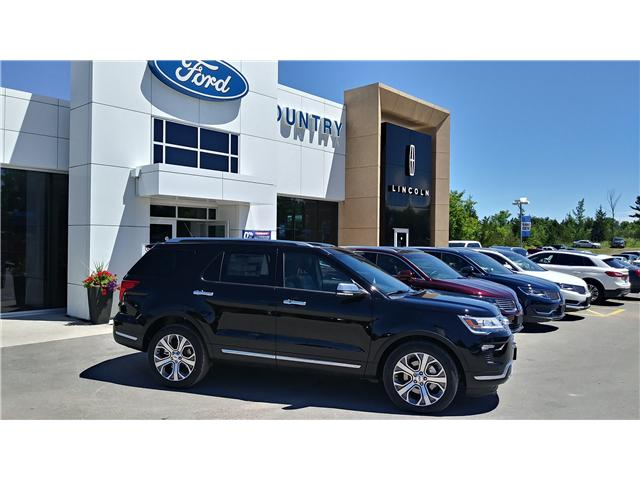 2018 Ford Explorer Platinum (Stk: EX1024) in Bobcaygeon - Image 1 of 21