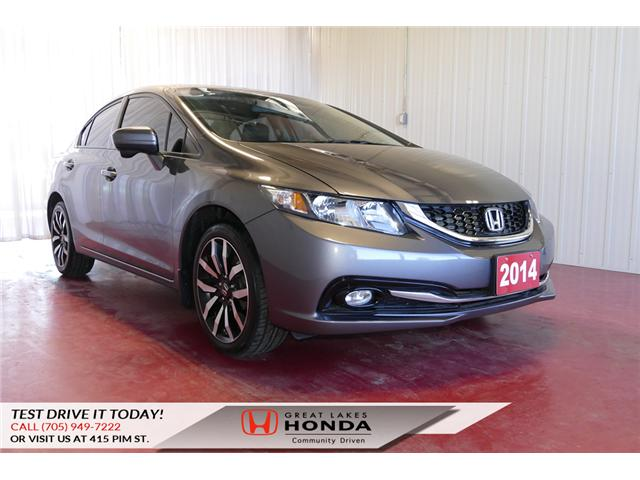 2014 Honda Civic Touring (Stk: HP508) in Sault Ste. Marie - Image 1 of 24