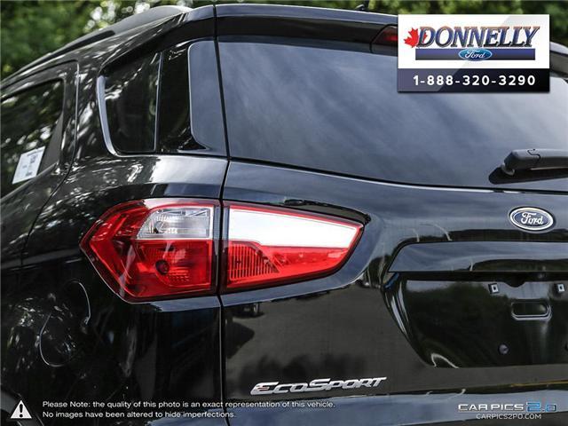 2018 Ford EcoSport SE (Stk: DR1437) in Ottawa - Image 12 of 29