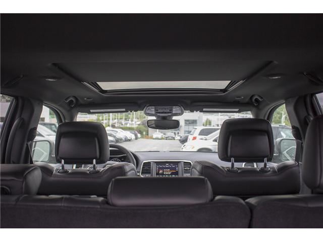 2018 Jeep Grand Cherokee Trailhawk (Stk: J410232) in Abbotsford - Image 10 of 24