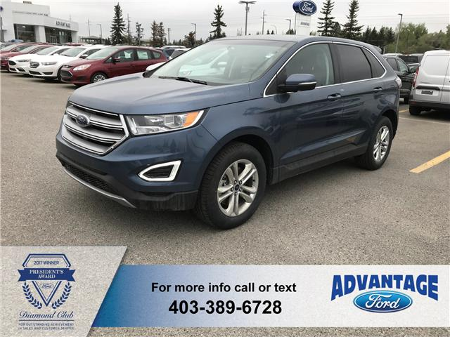 2018 Ford Edge SEL (Stk: J-857) in Calgary - Image 1 of 5
