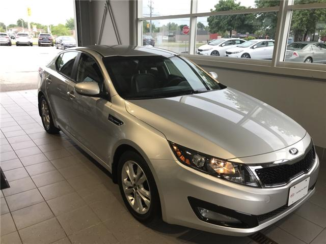 2013 Kia Optima EX (Stk: K18160A) in Windsor - Image 1 of 12