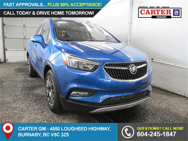 2018 Buick Encore Sport Touring (Stk: E8-43090) in Burnaby - Image 1 of 6