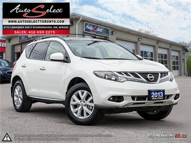 2013 Nissan Murano AWD (Stk: 13MW979) in Scarborough - Image 1 of 27