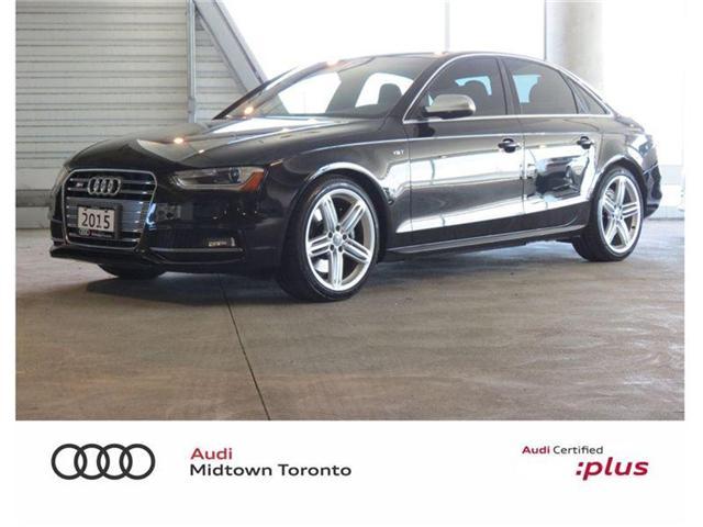 2015 Audi S4 3.0T Technik (Stk: P6971) in Toronto - Image 1 of 30