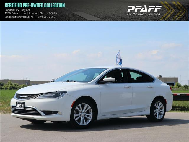 2015 Chrysler 200 Limited (Stk: 8634B) in London - Image 1 of 21