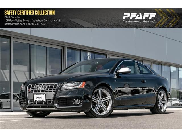 2010 Audi S5 4.2 6sp man qtro Cpe (Stk: P12445AA) in Vaughan - Image 1 of 22