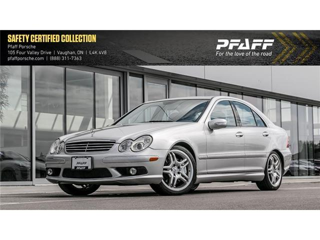 2005 Mercedes-Benz C55 AMG Sedan (Stk: U7183) in Vaughan - Image 1 of 16