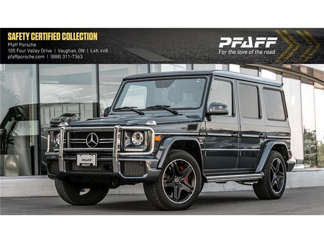 2017 Mercedes-Benz G63 AMG SUV (Stk: U7170A) in Vaughan - Image 1 of 21