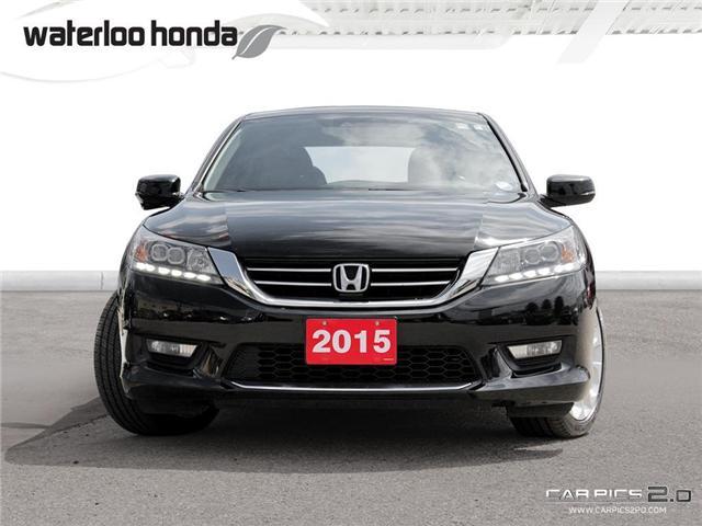 2015 Honda Accord Touring V6 (Stk: U4083) in Waterloo - Image 2 of 28
