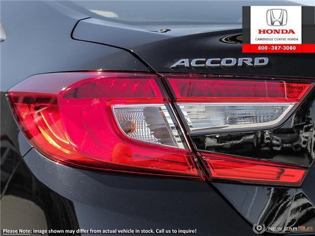 2018 Honda Accord Touring (Stk: 18555) in Cambridge - Image 11 of 23