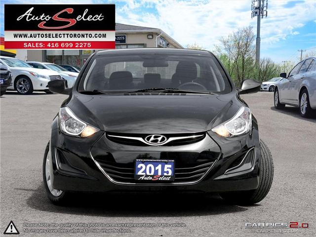 2015 Hyundai Elantra  (Stk: 15QS641) in Scarborough - Image 2 of 27