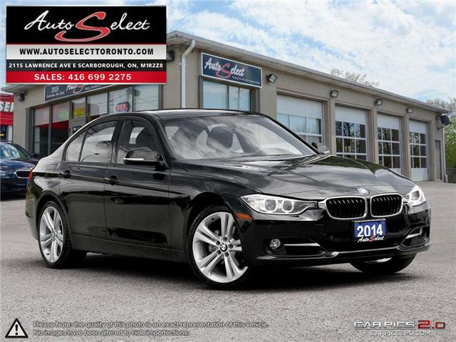 2014 BMW 328i xDrive (Stk: 14MP1Q99) in Scarborough - Image 1 of 28