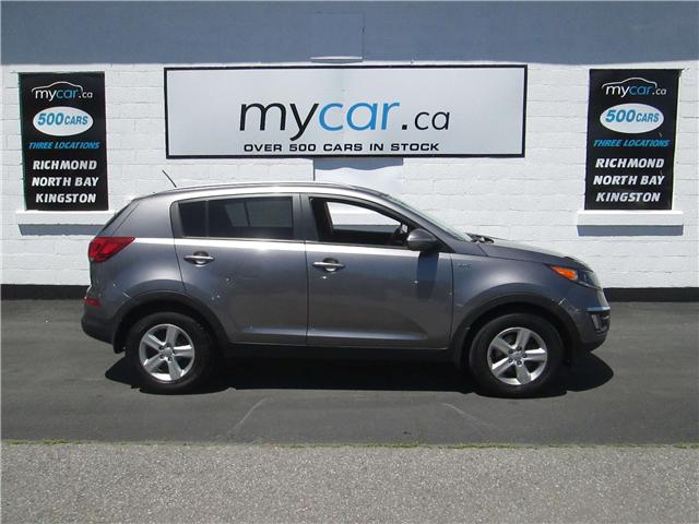 2014 Kia Sportage LX (Stk: 180719) in Kingston - Image 1 of 13