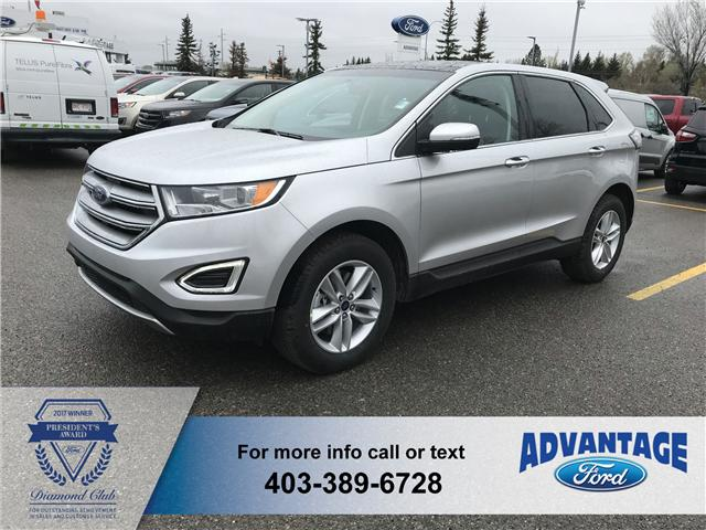 2018 Ford Edge SEL (Stk: J-824) in Calgary - Image 1 of 5