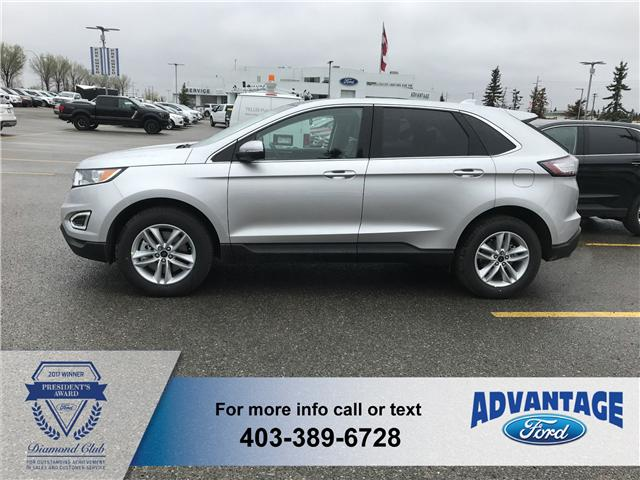 2018 Ford Edge SEL (Stk: J-824) in Calgary - Image 2 of 5