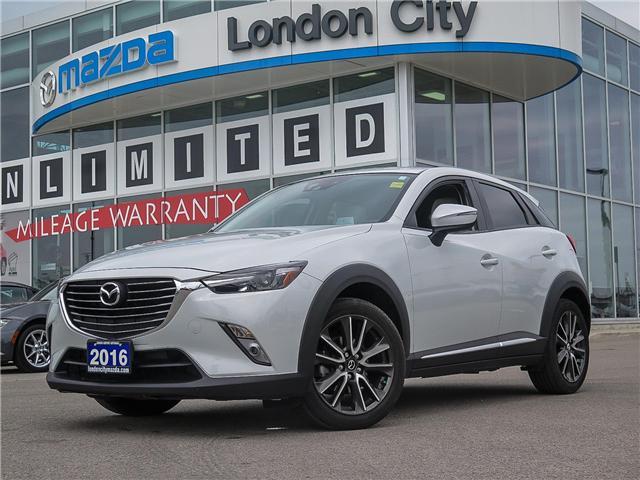 2016 Mazda CX-3 GT (Stk: MA1485) in London - Image 1 of 25
