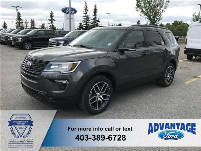 2018 Ford Explorer Sport (Stk: J-908) in Calgary - Image 1 of 5