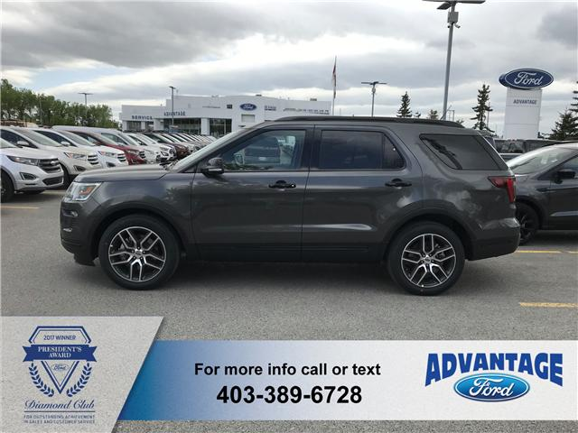 2018 Ford Explorer Sport (Stk: J-908) in Calgary - Image 2 of 5